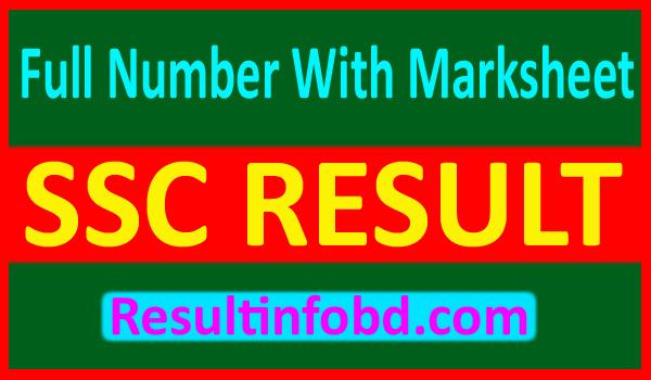 SSC Full Institute Result 2019